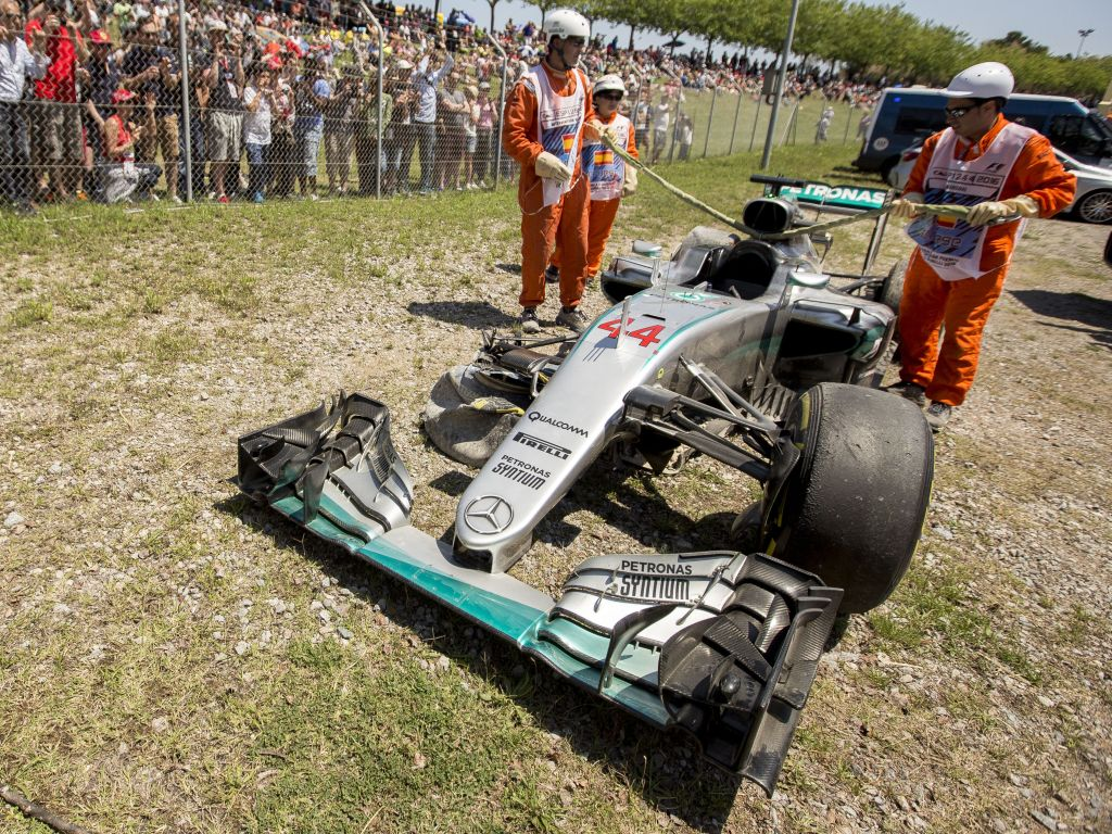 """Sir Jackie Stewart says drivers take """"liberties"""" in safer F1."""