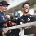Max Verstappen Daniel Ricciardo PA