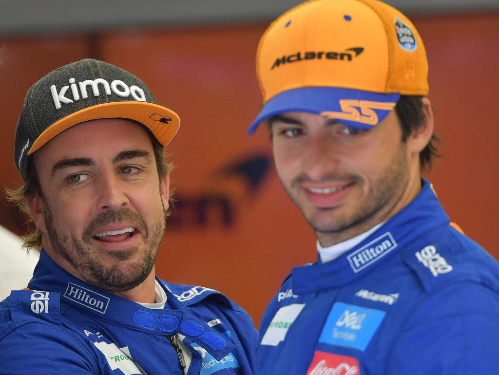 Fernando Alonso backs Carlos Sainz to have a 'great future' in F1