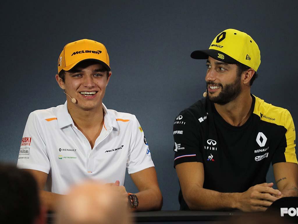 Daniel Ricciardo Lando Norris