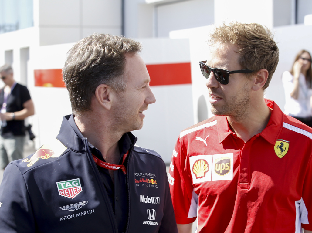 Christian Horner: Quit or stay, it's up to Sebastian Vettel