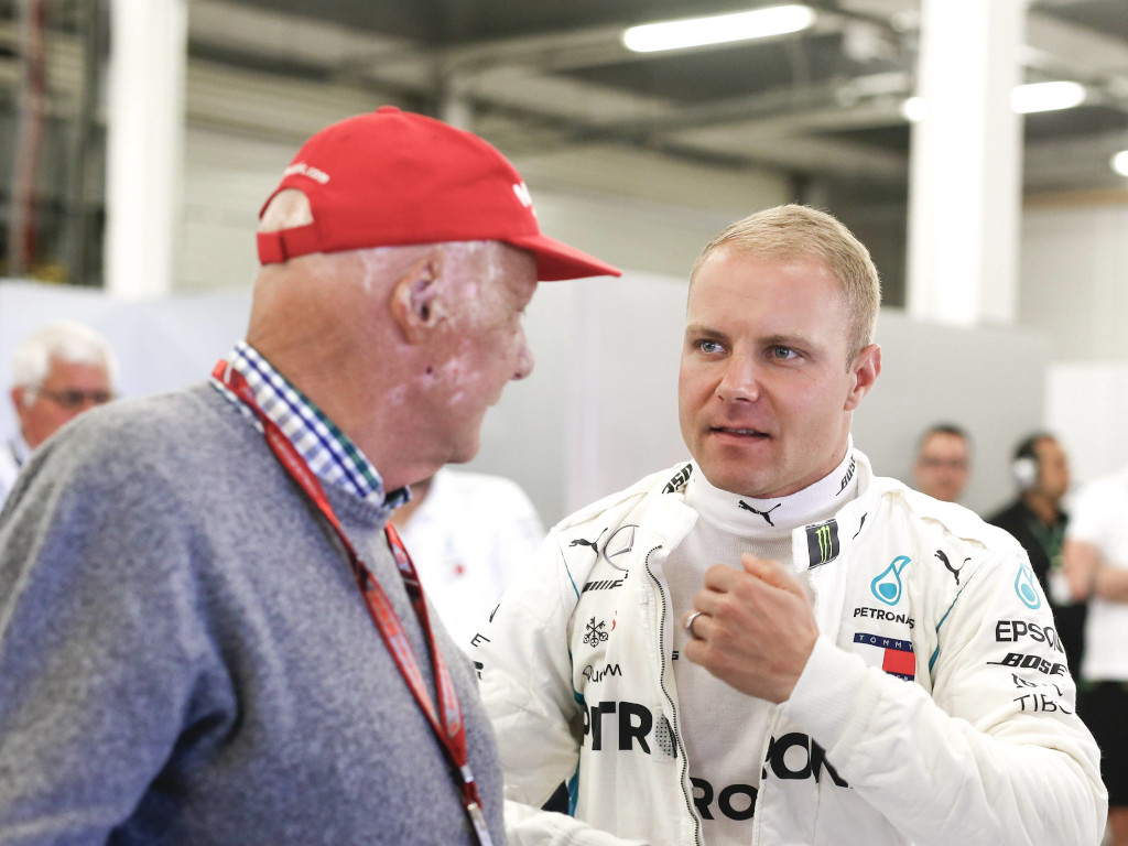 Valtteri Bottas: Niki Lauda taught me to trust my talent