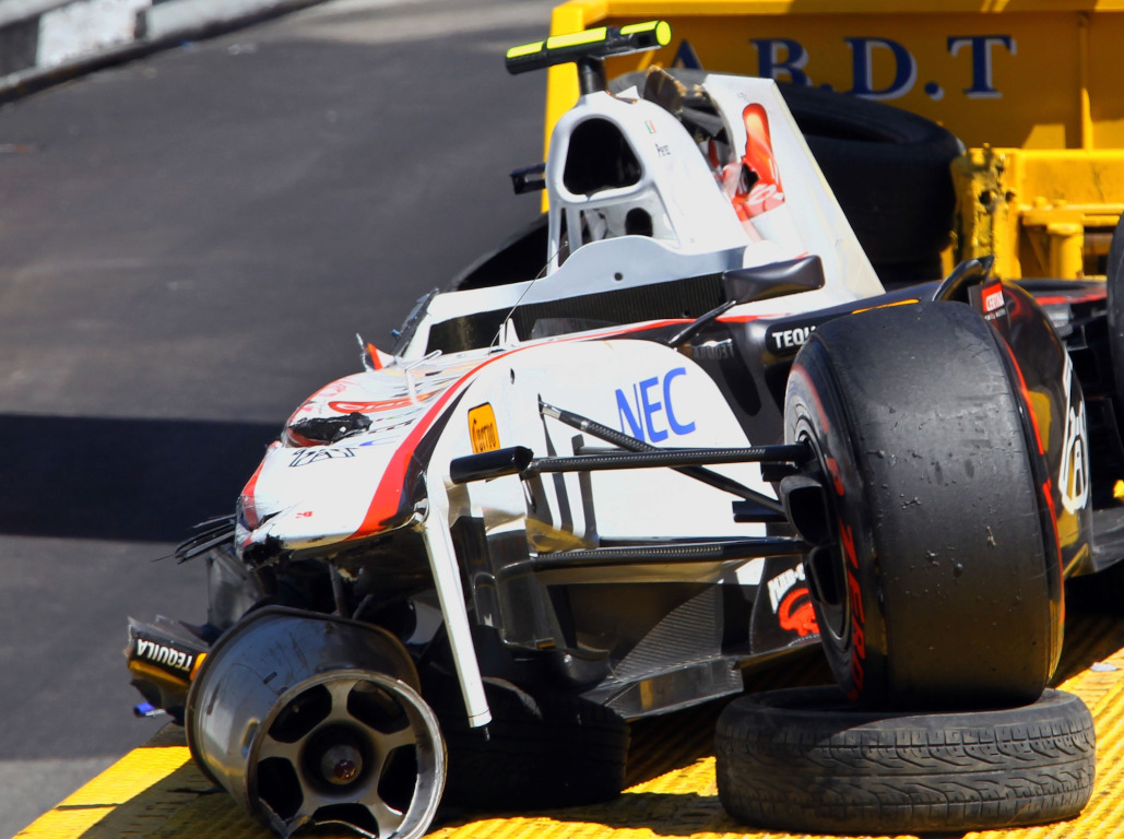 Sergio Perez: Biggest crash but I still love that chicane