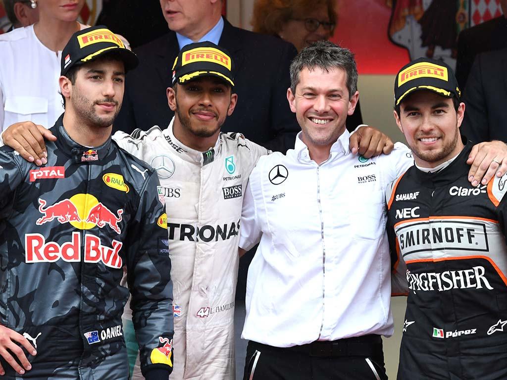 Daniel Ricciardo Monaco 2016