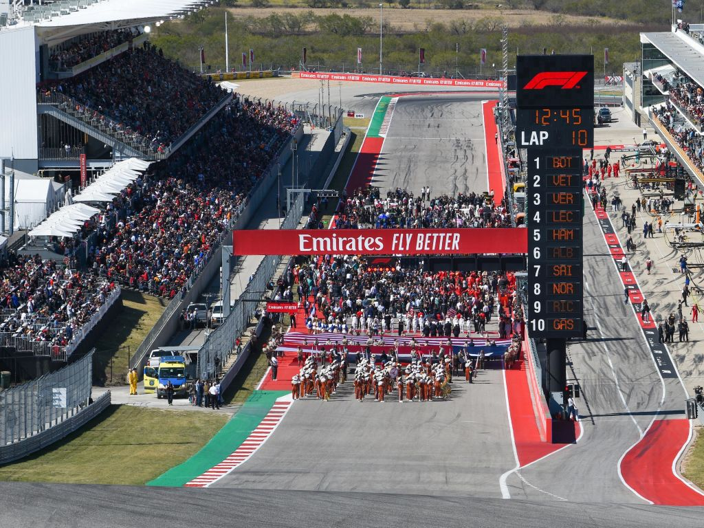 Doubt cast on the United States Grand Prix by health official.