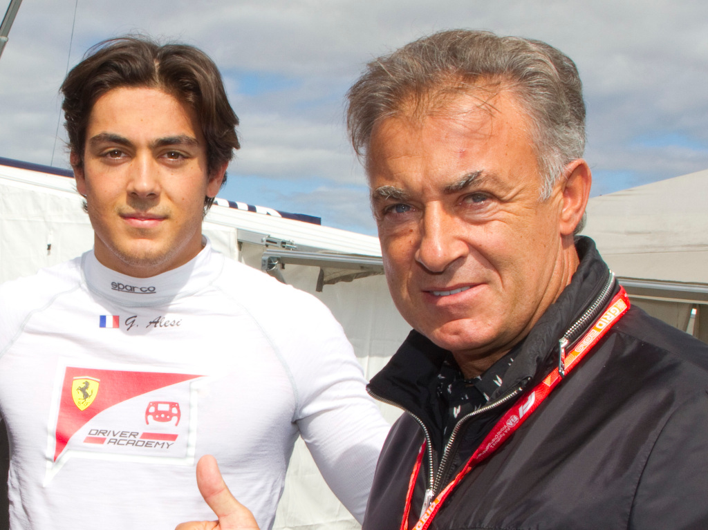 Jean Alesi sold F40 to fund son's F2 career