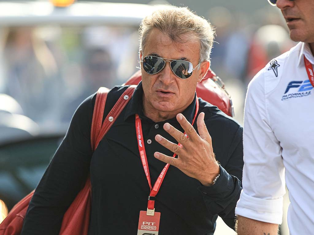Jean Alesi has told Charles Leclerc not to give up with Ferrari
