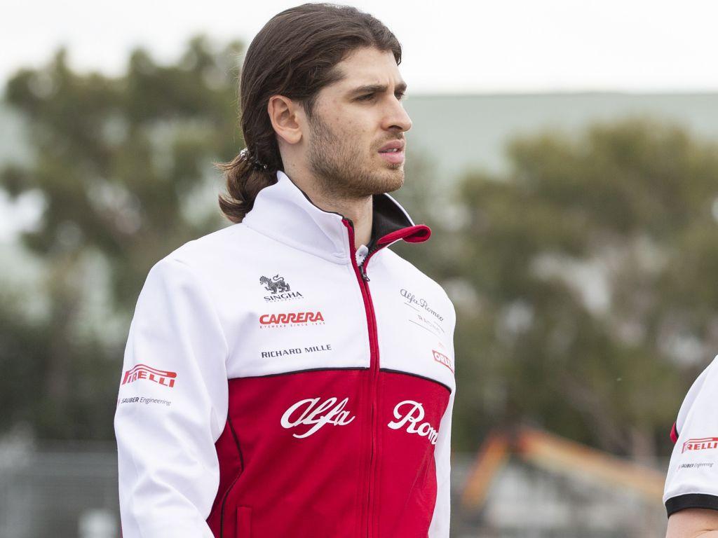 Antonio Giovinazzi race starts