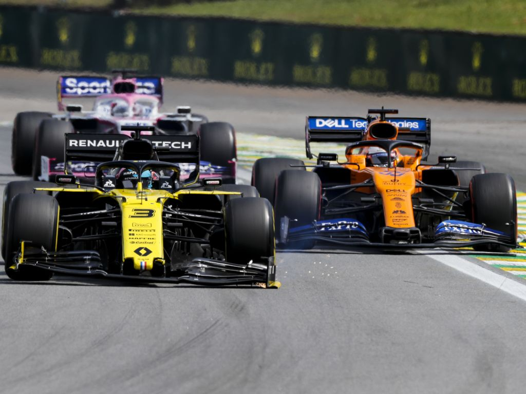 Daniel Ricciardo says Racing Point team to beat.
