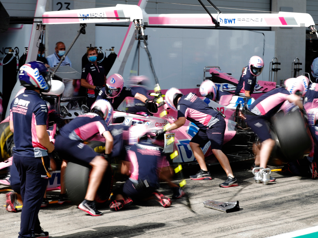 Cyril Abiteboul not ruling out pink Mercedes protest