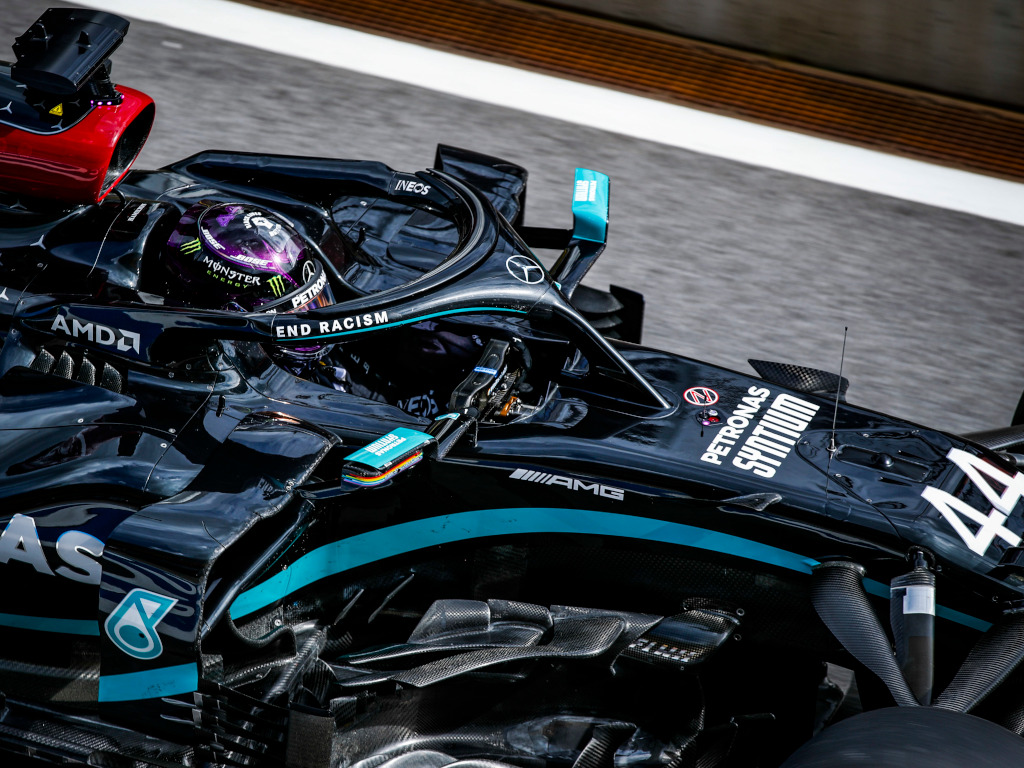 FP3: Hamilton fastest as Latifi brings out the reds