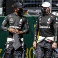 Lewis Hamilton Valtteri Bottas PA