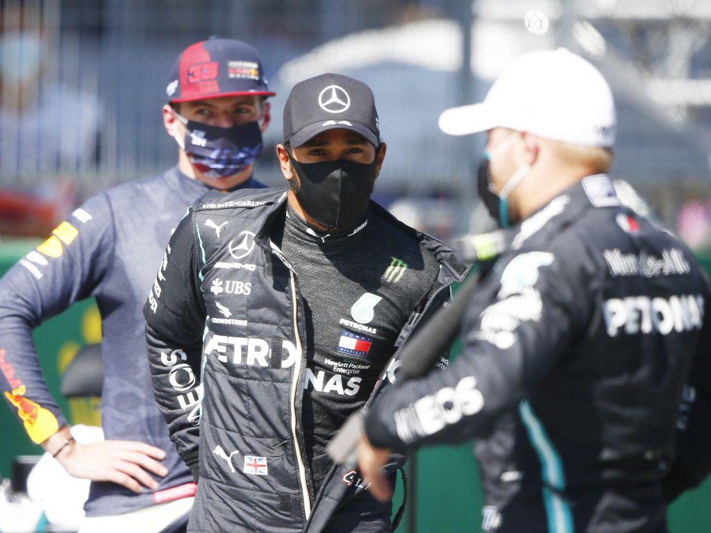 Wolff hasn't had 'a single' money talk with Hamilton