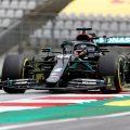 Lewis Hamilton empty grandstands