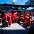 Sebastian Vettel scoffs at Binotto's coronavirus excuse