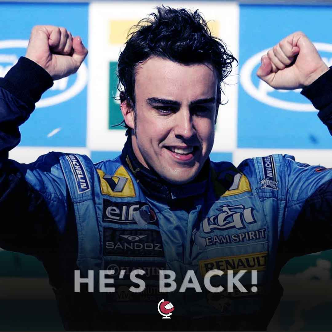 Renault Officially Announce Fernando Alonso Return