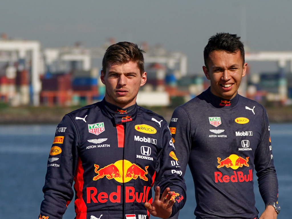 """Max Verstappen was """"trying to be polite"""" when he told Sebastian Vettel had been happy having him at Red Bull, he's rather have Alex Albon."""