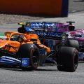 McLaren ahead of Racing Point 2020