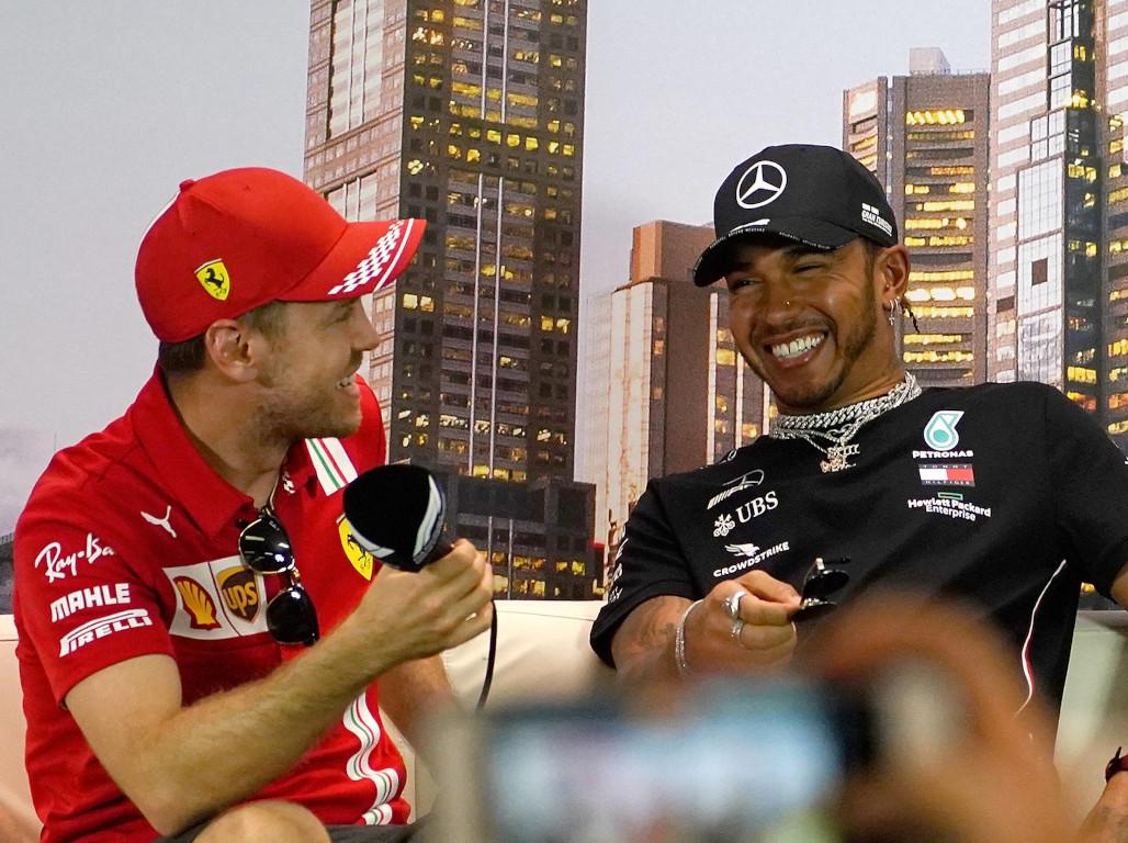 Lewis Hamilton: Shame if Sebastian Vettel is pushed out of F1