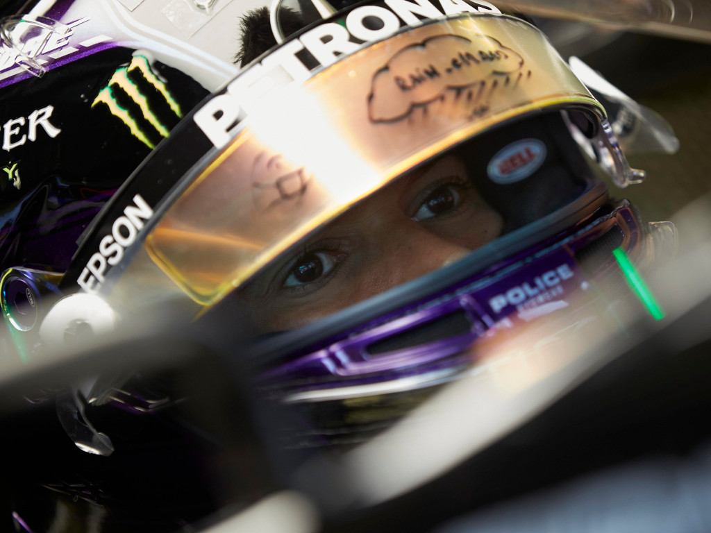 Lewis Hamilton storms to very wet pole for Styrian GP