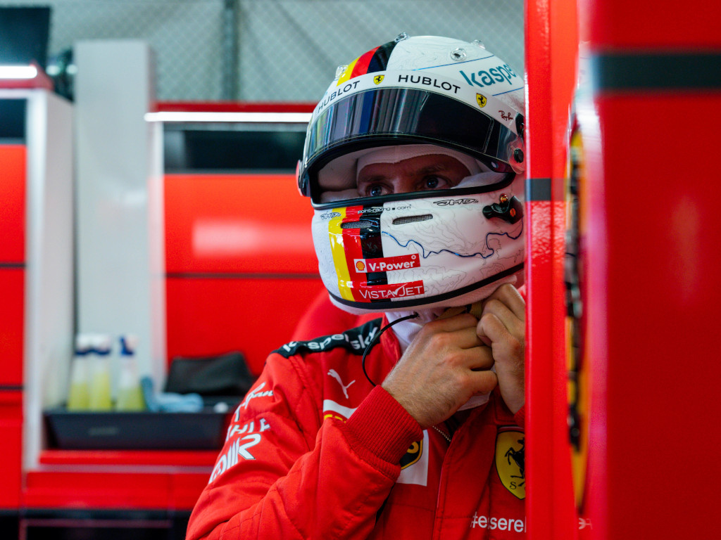 Vettel rules out early Ferrari exit, won't 'run away'