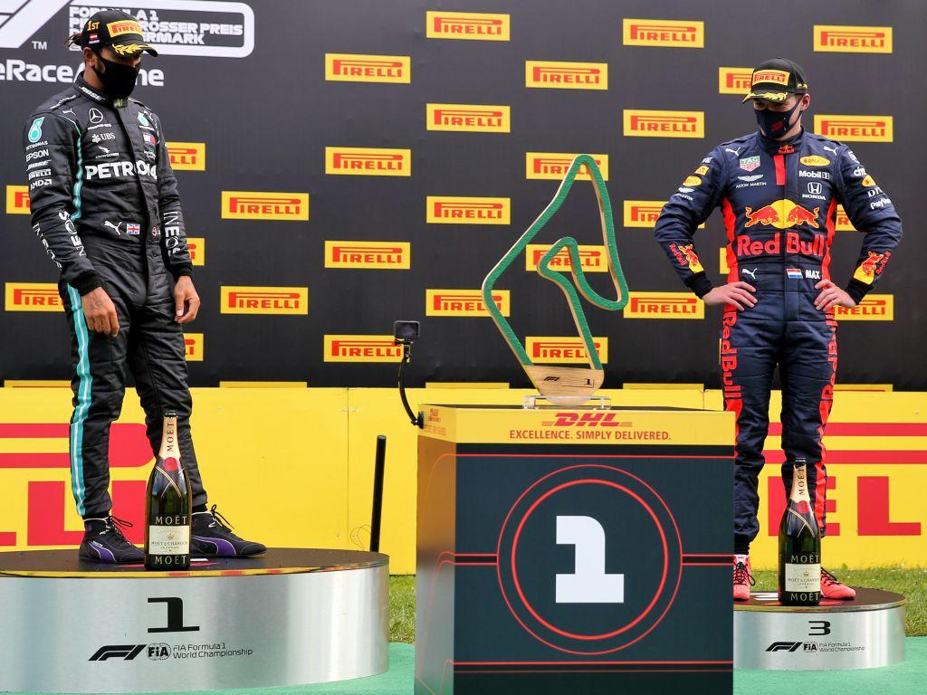 Lewis Hamilton Max Verstappen PA