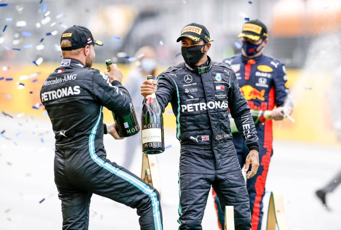 Styrian Grand Prix podium