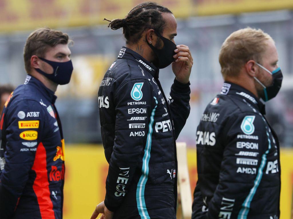 Max Verstappen Lewis Hamilton Valtteri Bottas PA