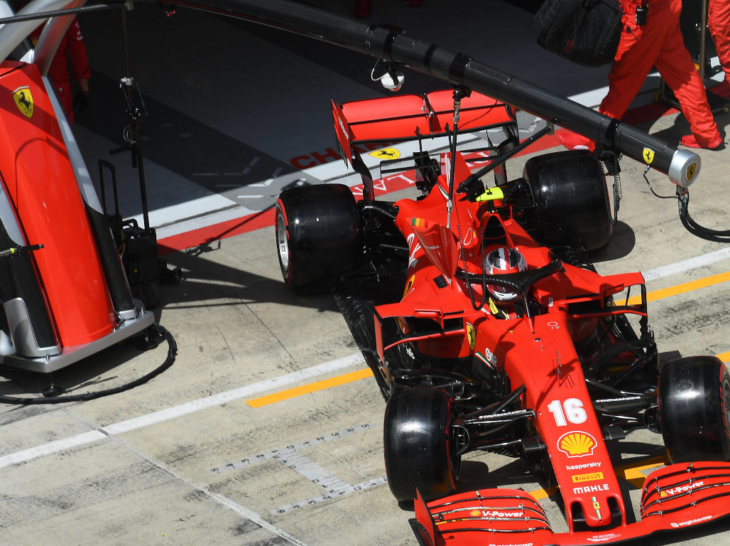 Charles Leclerc concedes Ferrari 'didn't need that'