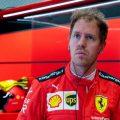 Sebastian Vettel serious