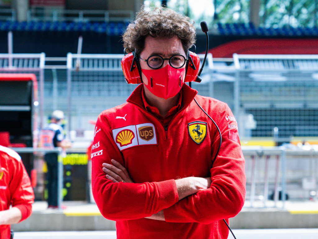 Mattia Binotto Ferrari arms crossed mask.jpg