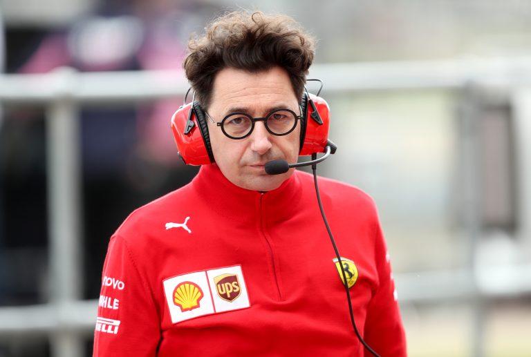 Mattia Binotto is in charge at Ferrari