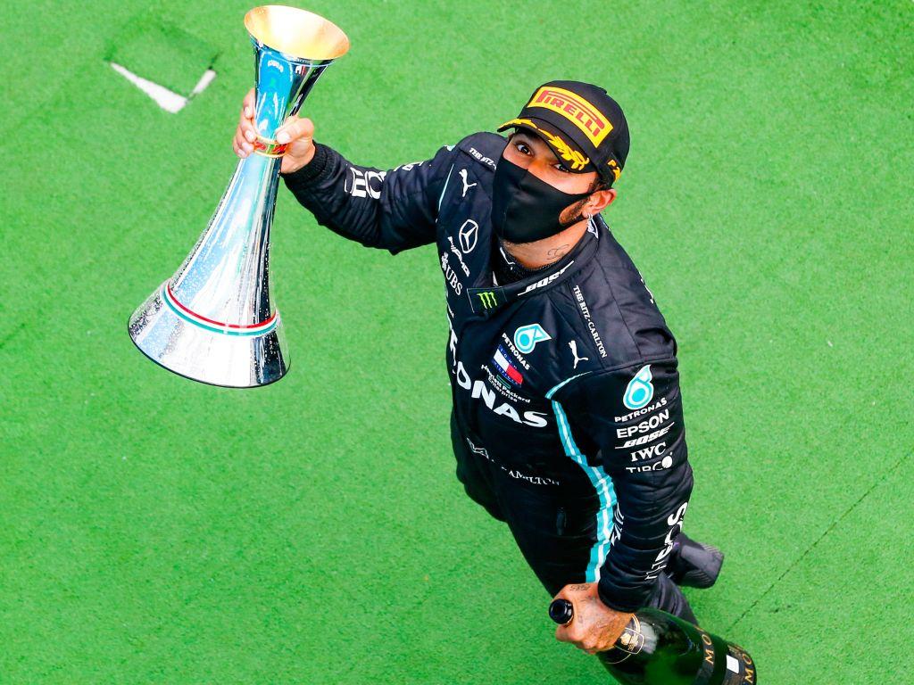Lewis Hamilton PA