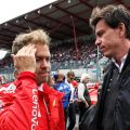 "Toto Wolff thinks Sebastian Vettel's ""change of scenery"" with Aston Martin is exactly what he needs after finding himself in a ""negative spiral"" at Ferrari."