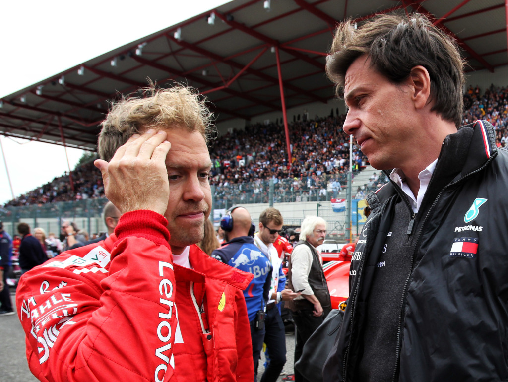 Wolff denies involvement in Vettel/Aston Martin talks