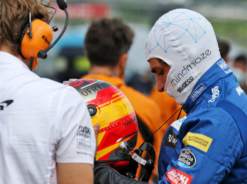 Carlos Sainz had to 'take the chance' on Ferrari