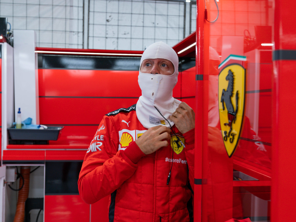 Sebastian Vettel: I'm not here to make up the numbers