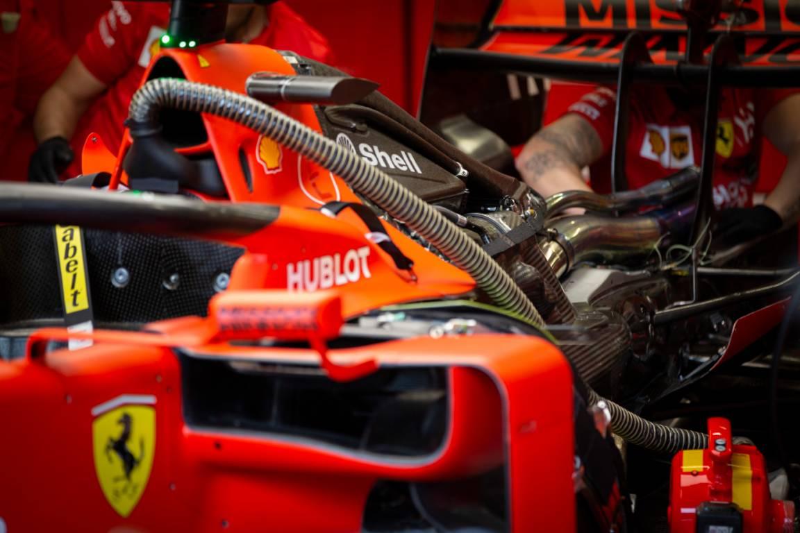 Ferrari power units