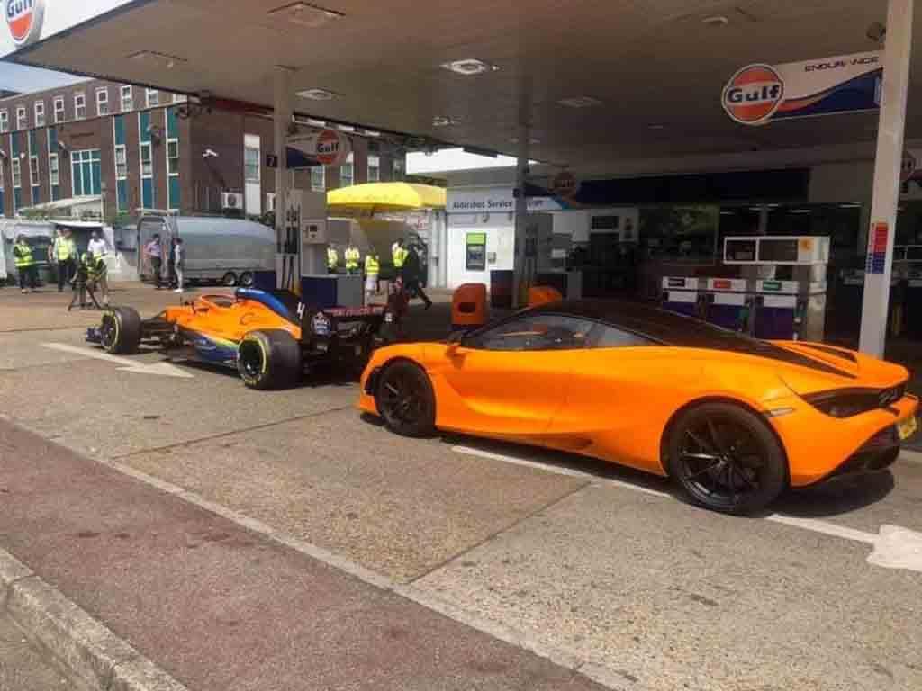 McLaren Gulf Oil