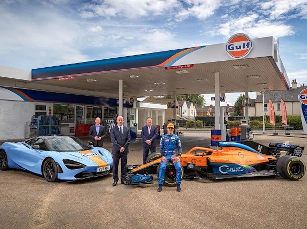McLaren confirm Gulf Oil's return to Formula 1