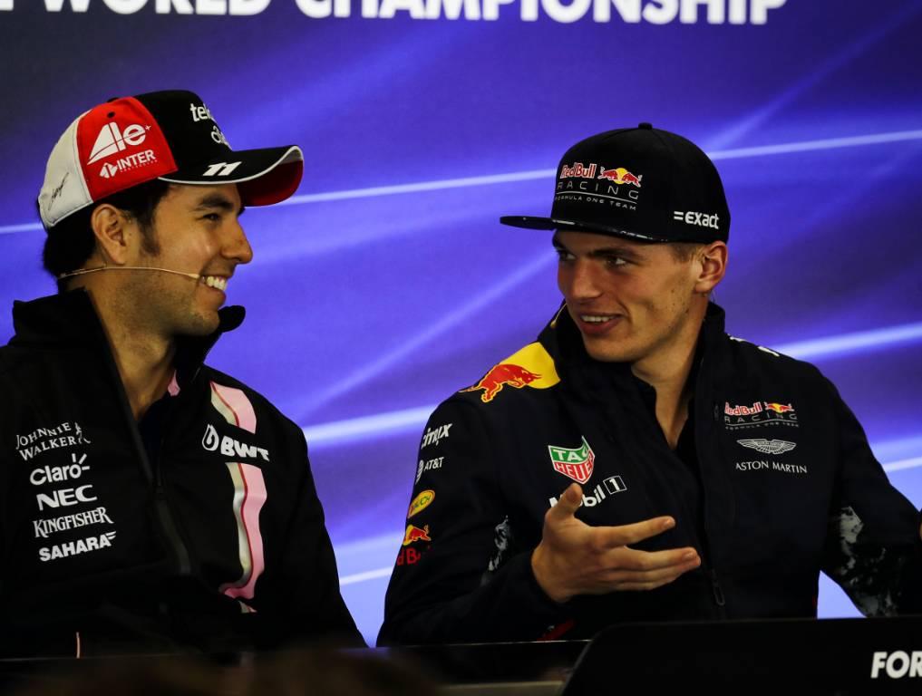 Max Verstappen Sergio Perez PA
