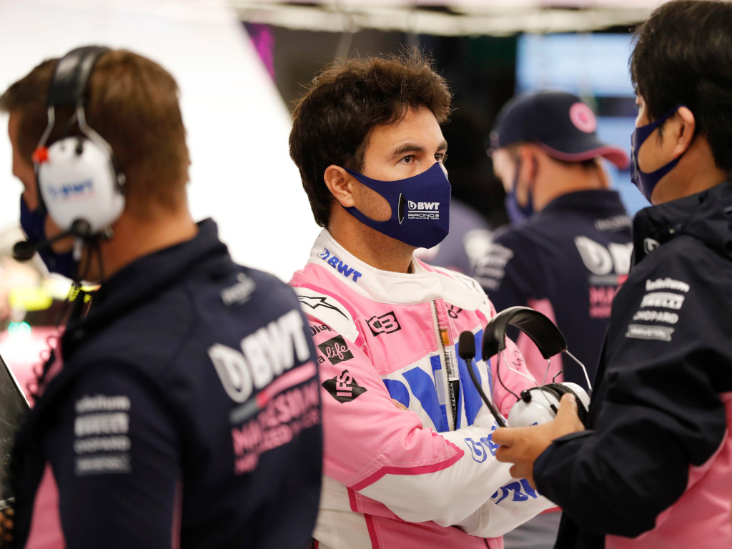 Sergio Perez Racing Point garage.jpg