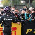Lewis Hamilton Mercedes mechanics
