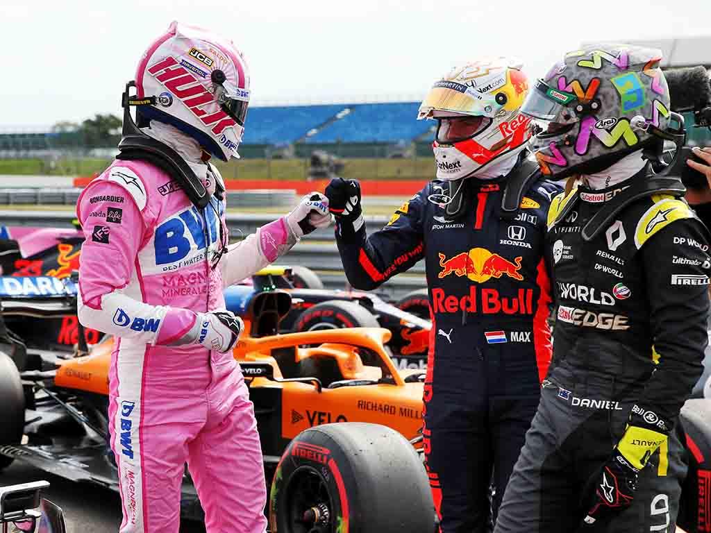 Nico Hulkenberg Max Verstappen