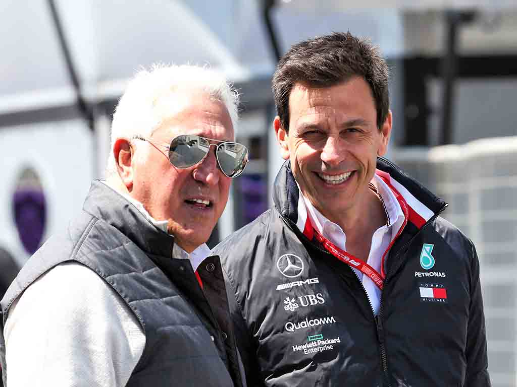 Toto Wolff Lawrence Stroll
