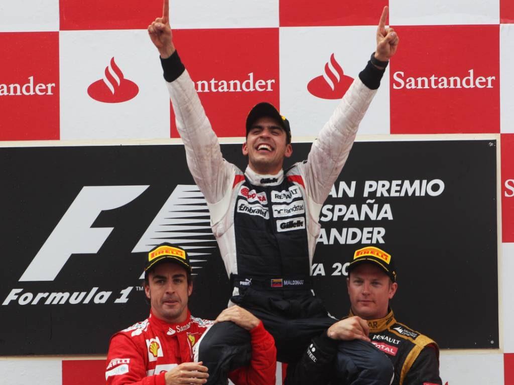 Pastor Maldonado 2012 Spanish Grand Prix