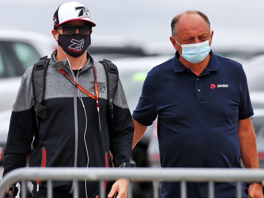 Kimi Raikkonen Fred Vasseur