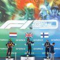 Spanish Grand Prix podium for conclusions