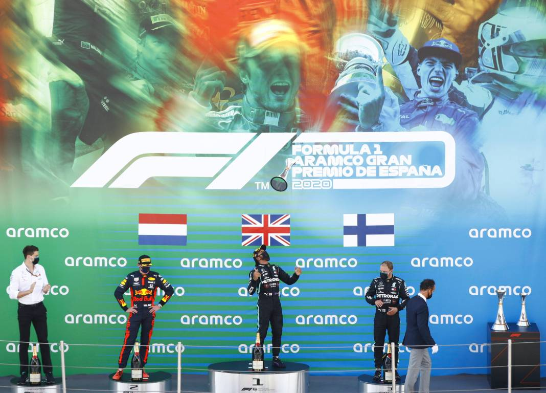 Spanish Grand Prix podium for conclusions