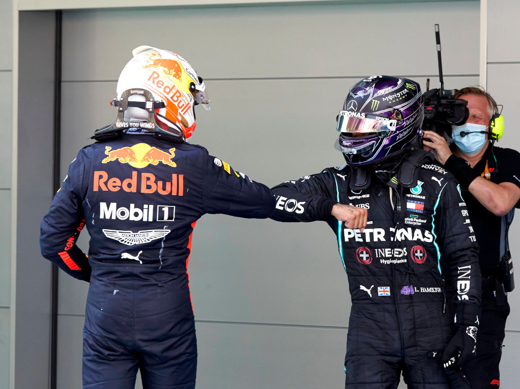 Max Verstappen and Lewis Hamilton elbow bump.jpg